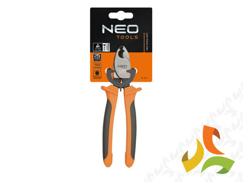 Obcinak do kabli CU i AL 160mm 01-513 NEO TOOLS